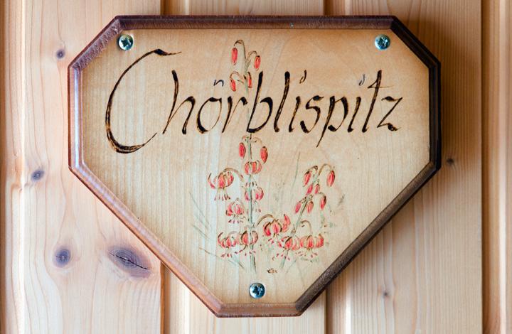 Wohnung Chörbelispitz