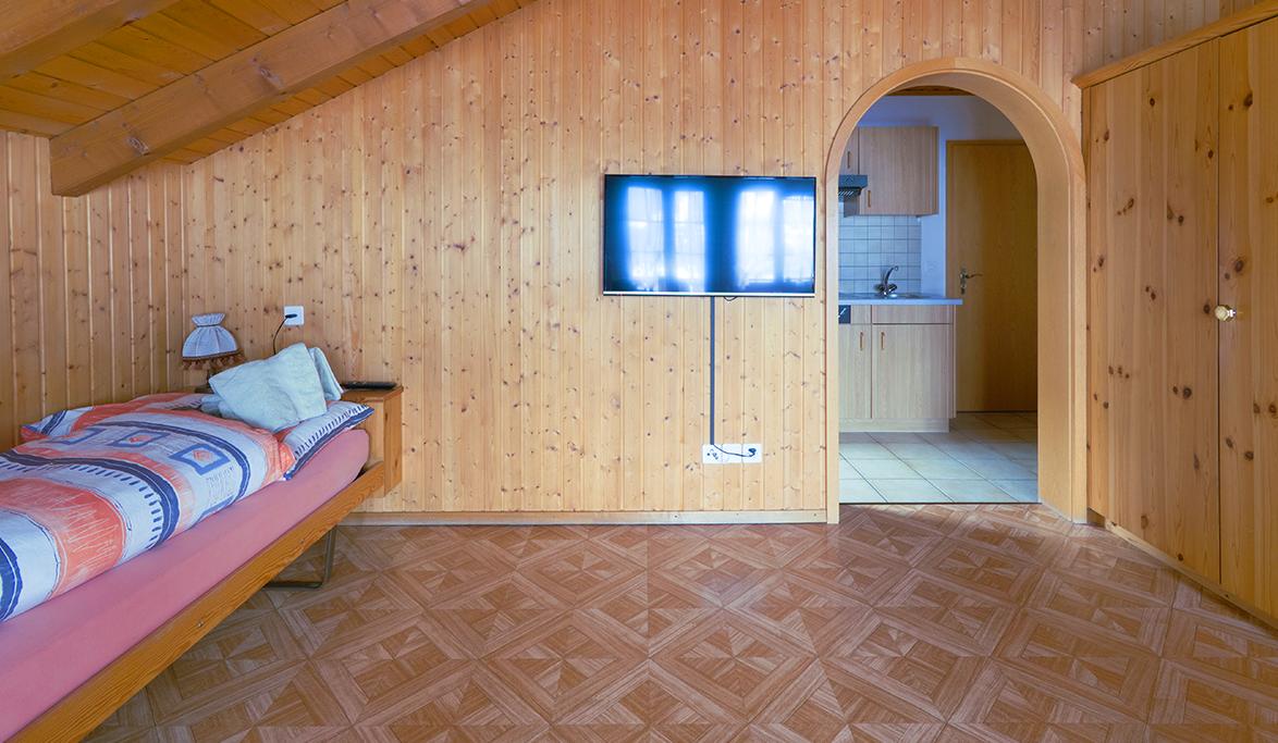 Spitzflue Schlafzimmer